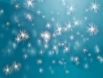 Falling snowflakes Royalty Free Stock Image