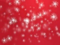 Falling snowflakes Royalty Free Stock Photo