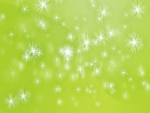 Falling snowflakes Stock Photography
