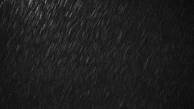 Falling Snowflakes against Black Background for Alpha Royalty Free Stock Image