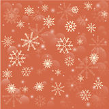 Falling snowflakes. Christmas snowflakes background. Falling snowflakes on snow. Vector illustration vector illustration