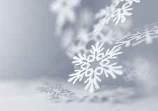 Falling Snowflakes Royalty Free Stock Images