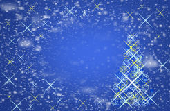 Falling snowflakes in the sky. The Magic of Christmas,. Falling snowflakes in the night sky. The Magic of Christmas, background is background, abstract royalty free stock photo