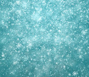 Falling snowflakes, snow background Royalty Free Stock Images