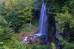 Falling Springs Waterfall, Covington, Virginia. Stock Image