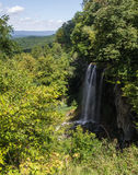 Falling Springs Waterfall, Covington, Virginia. Stock Photography