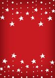 Falling star line abstract red background. Falling star background, red abstract wallpaper, star line template, vector illustration Royalty Free Stock Photo