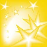 Falling stars Royalty Free Stock Image