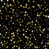 Falling Stars Abstract Background. Light Curtain. Vector illustr. Ation royalty free illustration
