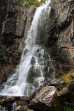 Falling water falls. Stock Photo