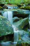 Falling Water in the Smoky Mountains Stock Photo