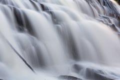 Falling Whitewater Stock Image