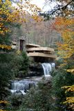 FALLINGWATER Stock Photo