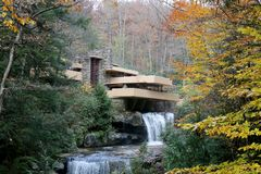 FALLINGWATER Royalty Free Stock Photo