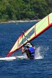 FallingWindsurfer Stock Images