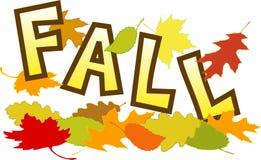 fallleaves vektor illustrationer