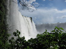 Fallls de Iguassu Fotografia de Stock