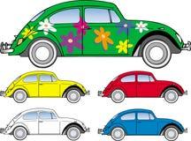 Fallo de funcionamiento del escarabajo de VW Ilustración del Vector