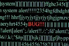 Insecto del ordenador fotos de archivo