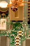 Fallo de funcionamiento del ordenador Fotografía de archivo