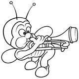 Fallo de funcionamiento y Trombone Fotos de archivo