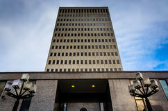 The Fallon Federal Building in Baltimore, Maryland. Royalty Free Stock Images