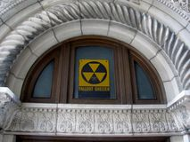 Fallout shelter sing. Stock Photography