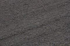Fallout volcano ash. Etna write with food Stock Photos