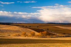 The fallow fields Stock Photos