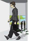 fallpengar vektor illustrationer
