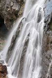 Falls. Abkhazia. Royalty Free Stock Photo