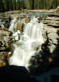 falls athabasca zdjęcia stock