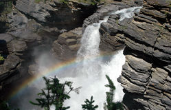falls athabasca Fotografia Royalty Free