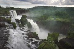 Falls in Brazil Royalty Free Stock Photography