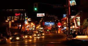 Falls and Clifton Ave. in Niagara Falls, Canada Stock Photography
