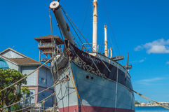 Falls of Clyde - Hawaii Maritime Museum Royalty Free Stock Photography