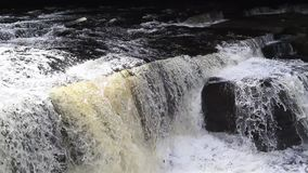 River Clyde, New Lanark, Scotland, UK, HD footage. Falls of Clyde, New Lanark, Scotland, UK, HD footage stock video
