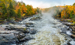 Falls and colors Royalty Free Stock Photography