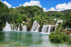 Falls in Croatia. Royalty Free Stock Photos