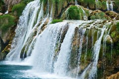 Falls in Croatia. Royalty Free Stock Photography