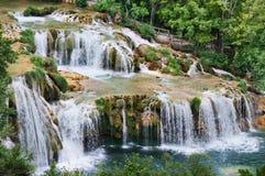 Falls in Croatia. Royalty Free Stock Photo