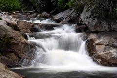 Falls on the Cullasaja stock photo