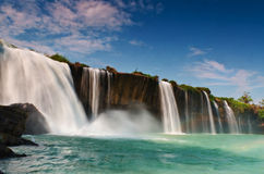 Falls Draynur. Draynur Falls is a large waterfall in the province of Dak Lak, Vietnam royalty free stock photography
