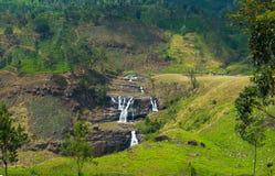 Falls för St Clair, Sri Lanka Arkivfoto