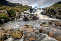 The Falls at Glen Coe Stock Images
