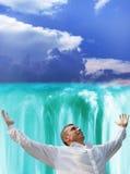 falls heavenly Arkivbilder