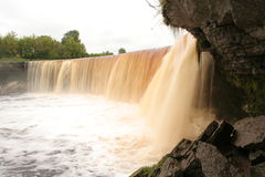 Falls Jagala Royalty Free Stock Images