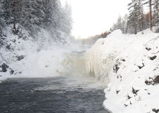 Falls of Kivach Royalty Free Stock Images