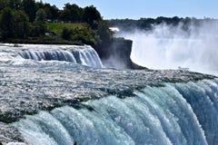 Mesmerizing raging rapids at Niagara Falls State Park Stock Images
