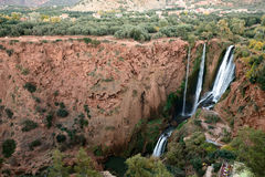 Falls in Morocco Royalty Free Stock Photo